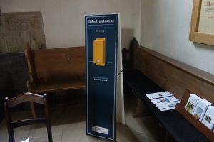 Bibeltextomat - jetzt neu in der Stadtkirche