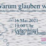 Jugendgottesdienst am Altmühlsee
