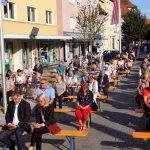 Kirchweih-Gottesdienst auf dem Marktplatz